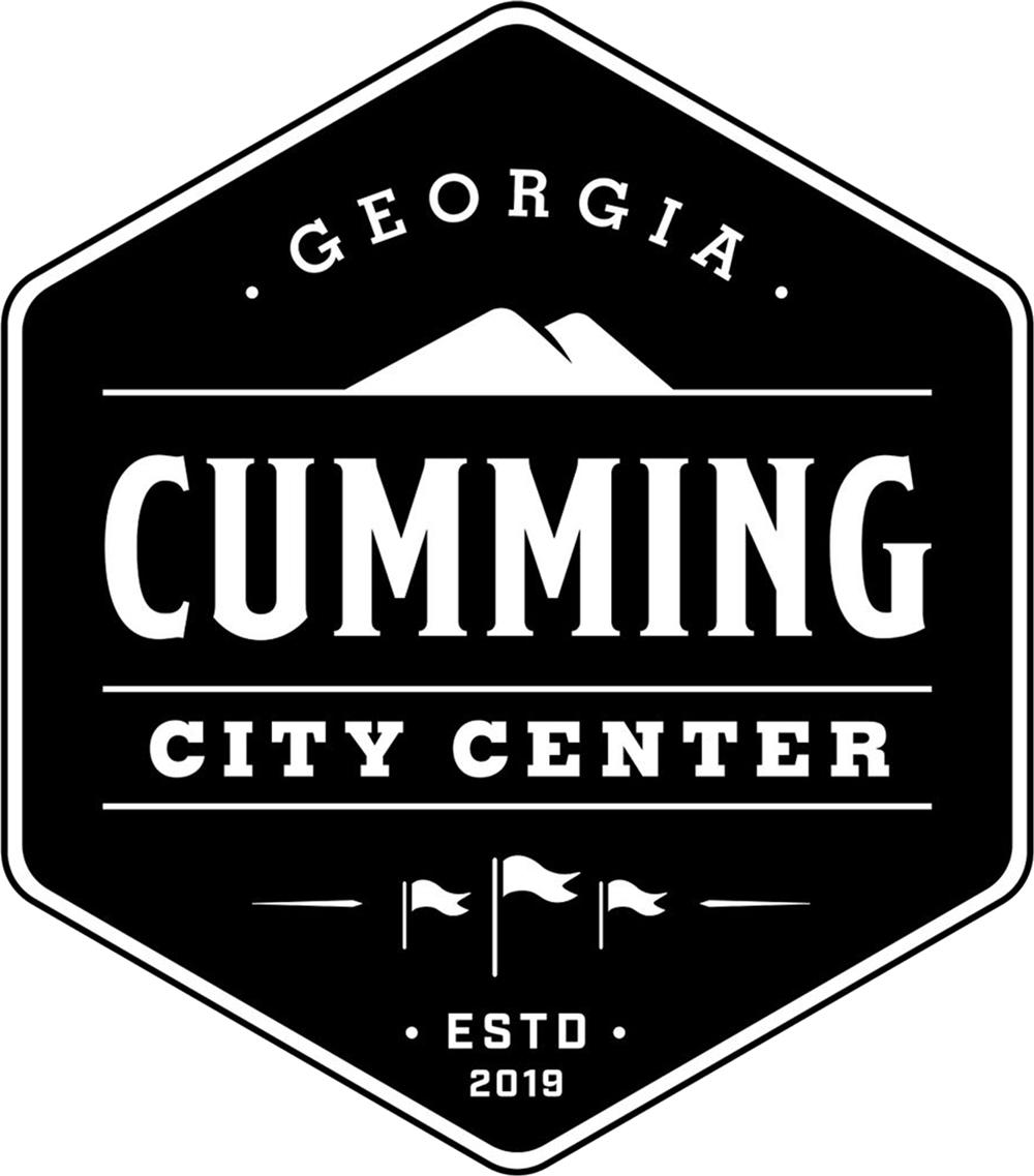 Cumming City Center badge